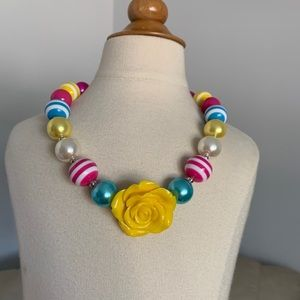 Accessories - Chunky Beaded Bubblegum Girl necklace